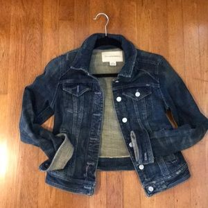 Anthropologie denim jacket